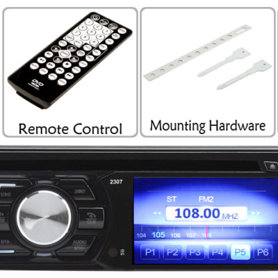 1 DIN 3 Inch TFT LCD Car DVD Player7