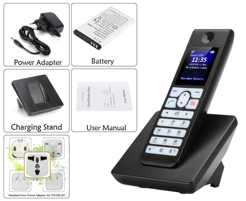 Portable GSM Desk Phone - J&D Ship Group
