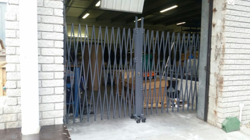 Trellis Swing Door